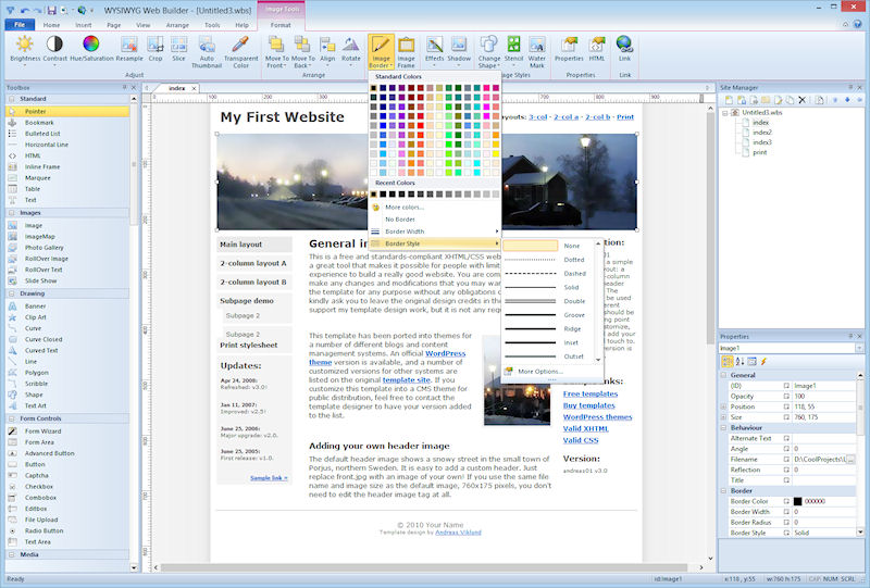 website making program